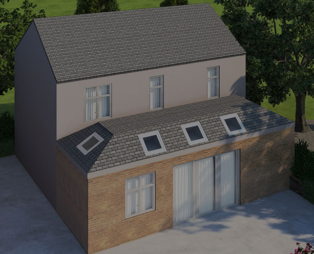 Crown Roof Extension