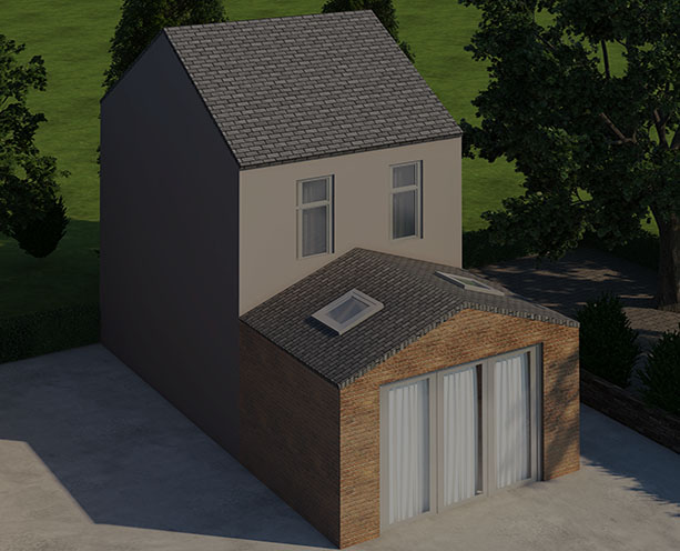 Gabled Roof Extension